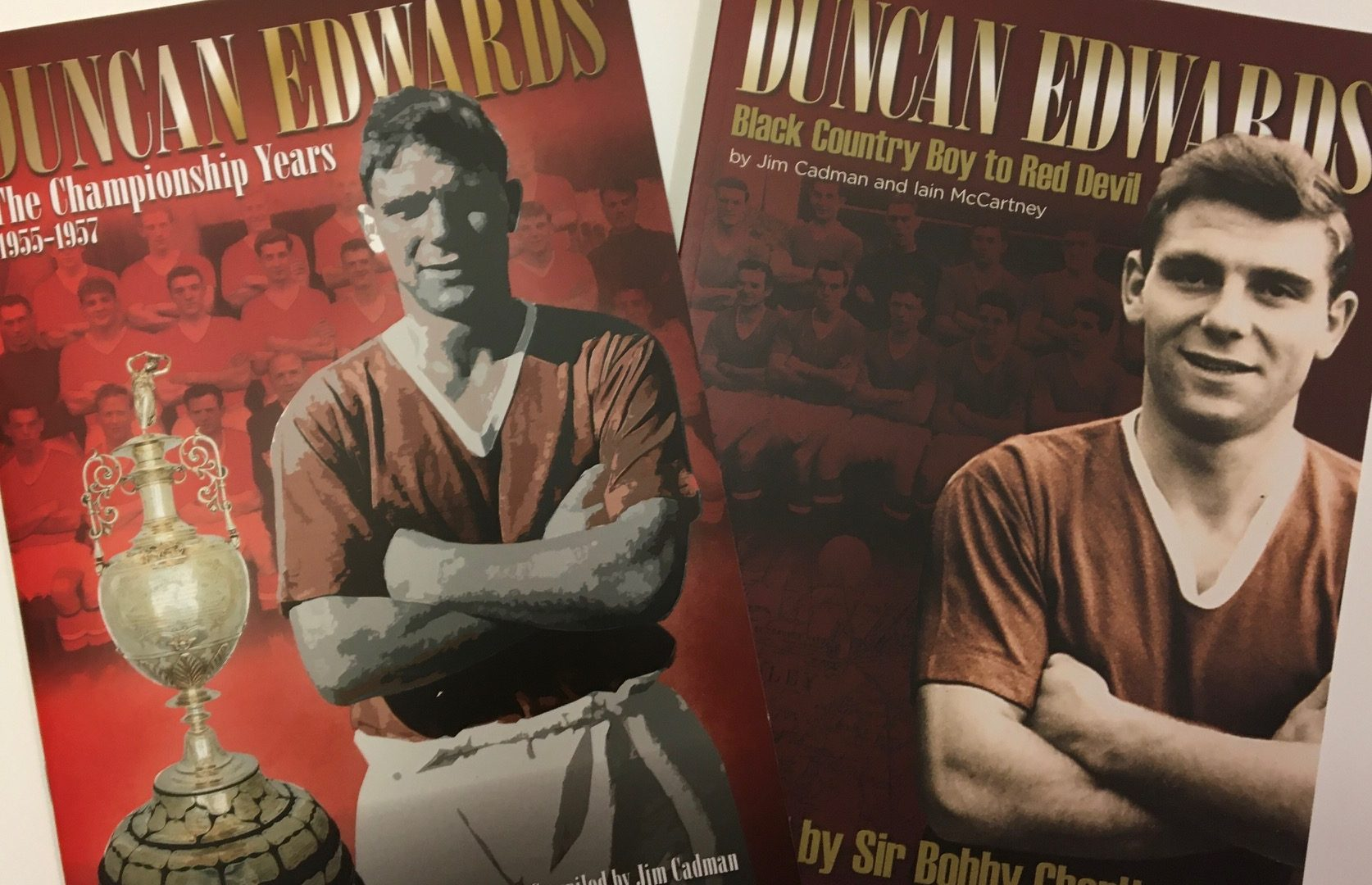 DUNCAN EDWARDS CHAMPIONSHIP YEARS BOOK NOW AVAILABLE