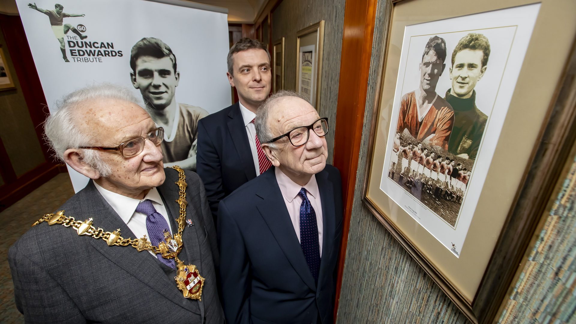 DUNCAN EDWARDS TRIBUTE ROOM OFFICIALLY OPENED